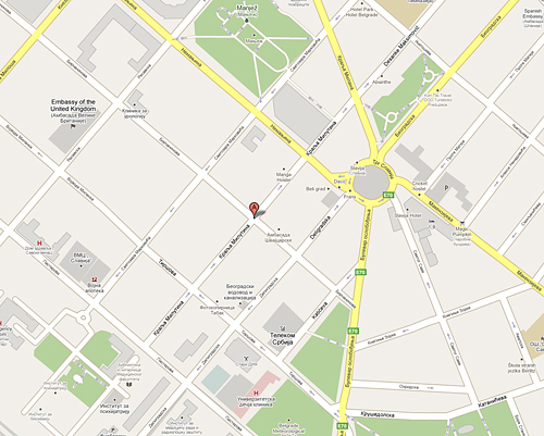 ulica kralja milutina beograd mapa Kralja Milutina 46 – 48, Beograd | GORES ulica kralja milutina beograd mapa